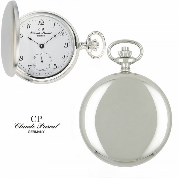 Claude Pascal Taschenuhr Silber 925 2103 C