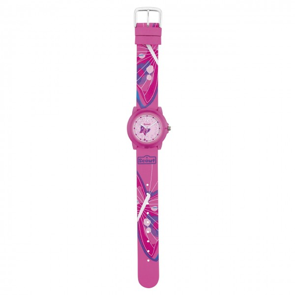 SCOUT Armbanduhr pink Crystal 280305029