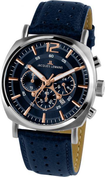 Jacques Lemans Herren-Armbanduhr Lugano 1-1645.1I