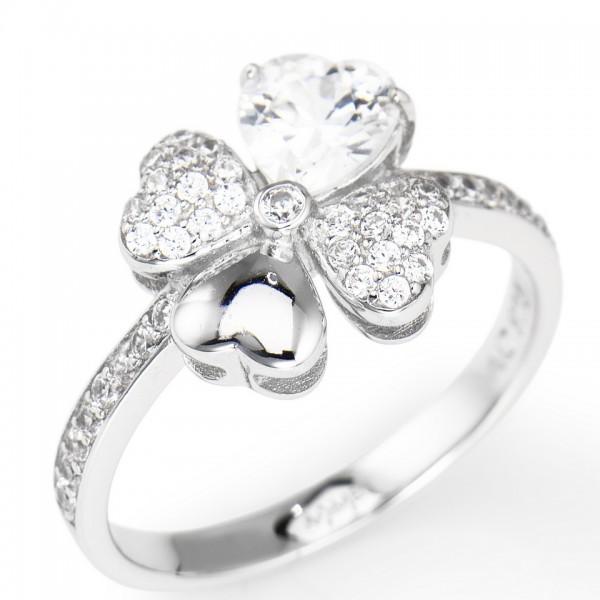 AMEN Ring Silber Herz Gr. 50 RQUBB-10