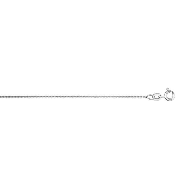 Rundankerkette 1,1 mm 925 Silber 38 cm