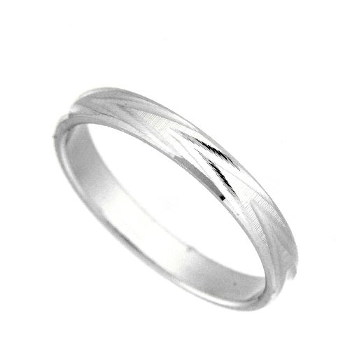 Freundschaftsring Silber 925 Breite 3 mm Weite 63