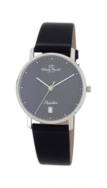 Claude Pascal Armbanduhr Herren Weißgold 585 W394280 SWP