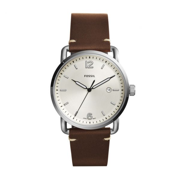 Fossil Armbanduhr THE COMMUTER 3H DATE FS5275