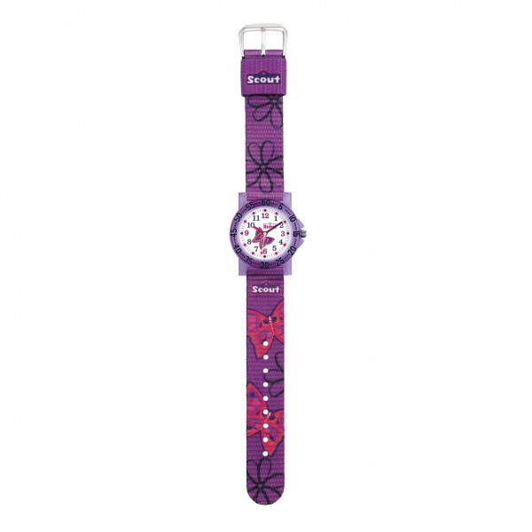 SCOUT Armbanduhr lila The IT-Collection 280375011