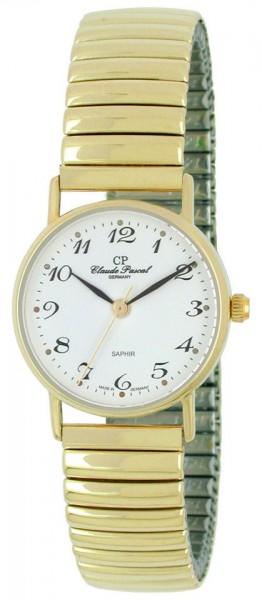 Claude Pascal Armbanduhr Damen Gold 585 294281 EAP