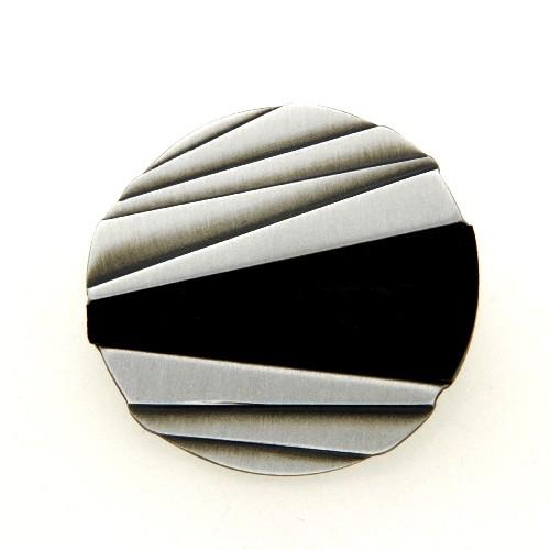 Anhänger Silber 925 oxidiert Ebenholz