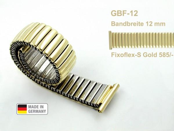 Claude Pascal Uhrarmband Gold 585 GBF-12