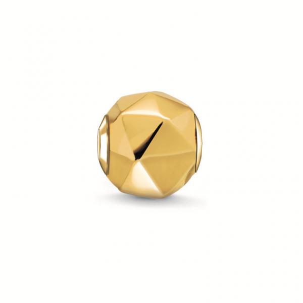 Thomas Sabo Karma Bead Dreieck vergoldet K0227-413-12