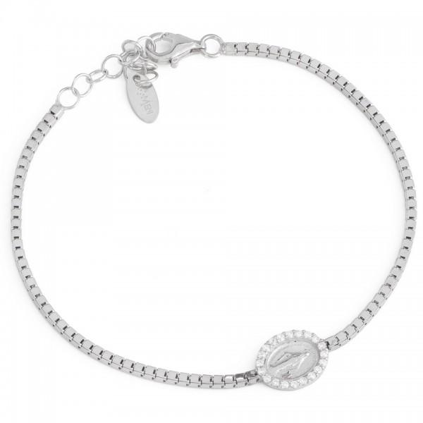 AMEN Armband 16 + 3 cm Silber BMIB