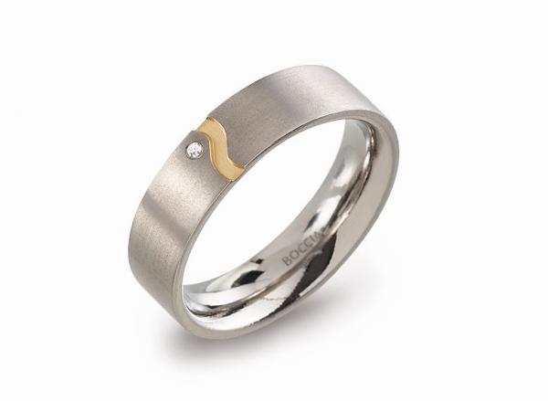 Boccia Titanium Ring 0147-0448 Größe 48