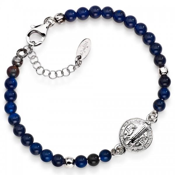 AMEN Armband 16 + 4 cm Silber SBP6