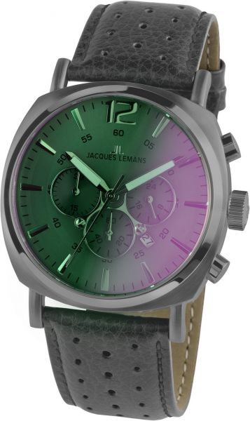 Jacques Lemans Herren-Armbanduhr Lugano 1-1645.1M