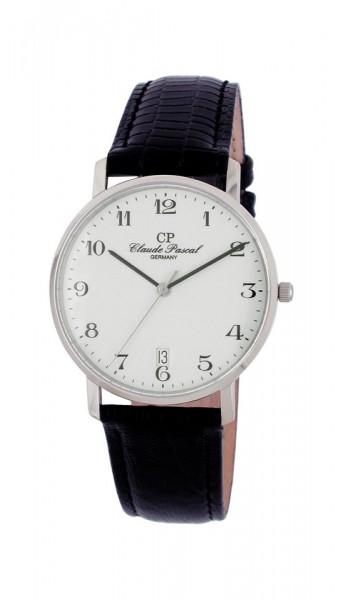 Claude Pascal Armbanduhr Herren Weißgold 585 W394280 EA