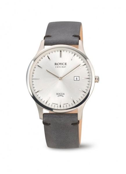 Boccia Titanium Royce Herren Armbanduhr 3641-01