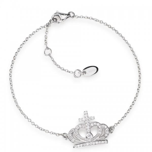 AMEN Armband 16 + 3 cm Silber BRC2