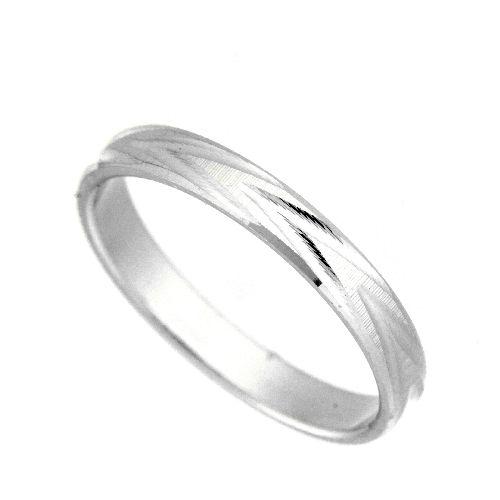 Freundschaftsring Silber 925 Breite 3 mm Weite 53