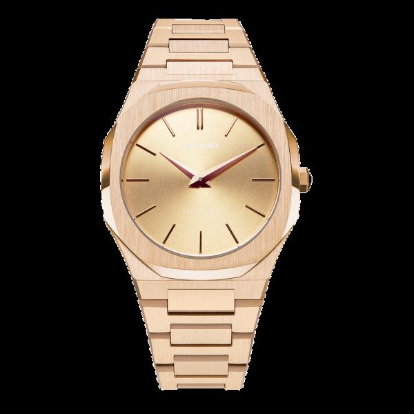 D1 Milano Armbanduhr Ultra Thin Quarz UTBL03