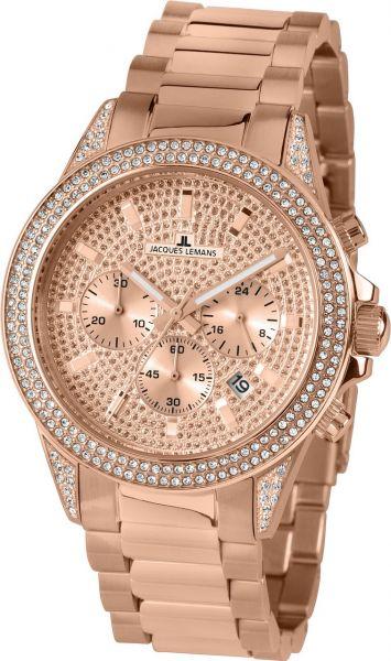 Jacques Lemans Damen-Armbanduhr St. Tropez 1-2051B