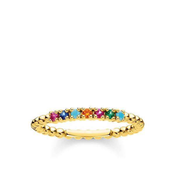 Thomas Sabo Ring TR2323-488-7-56