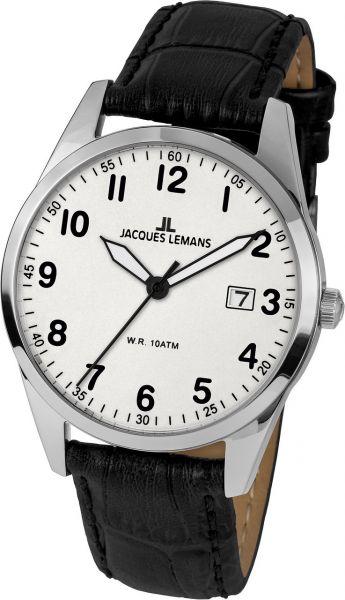 Jacques Lemans Herren-Armbanduhr Vienna 1-2002B