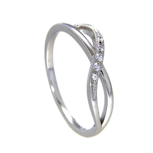 Ring Silber 925 rhodiniert Weite 52
