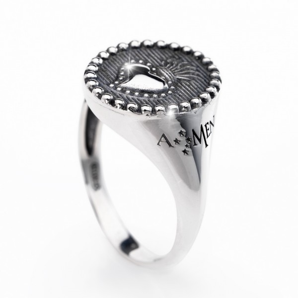 AMEN Ring Silber Gr. 60 ASC-20
