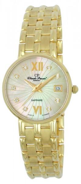 Claude Pascal Armbanduhr Damen Gold 585 2944145 PM