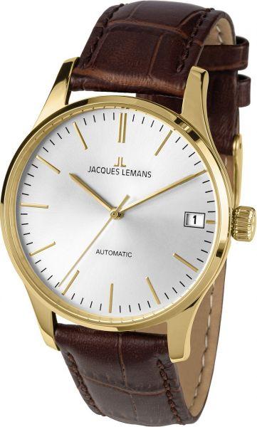 Jacques Lemans Damen-Armbanduhr London Automatic 1-2074F
