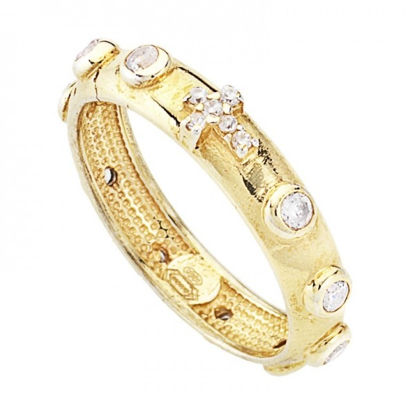 AMEN Ring Silber Kreuz Gr. 60 AROGB-20