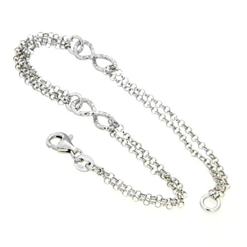 Armband Silber 925 rhodiniert