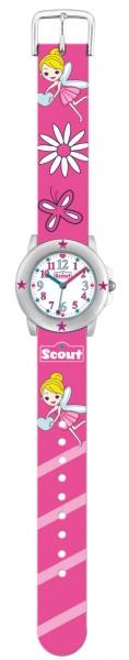 SCOUT Armbanduhr pink Star Kids 280393005