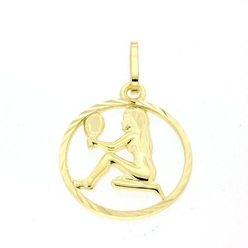 Tierkreiszeichen Gold 333 Jungfrau