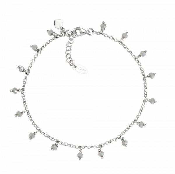 AMEN Armband 22 + 3 cm Silber CACUBF
