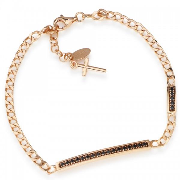 AMEN Armband 18 + 2 cm Silber BRURNZ1