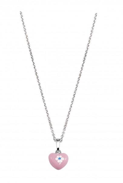 SCOUT Halskette silber, pink Herz 261081200