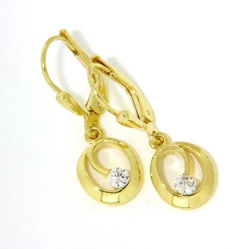 Ohrpendel Gold 333