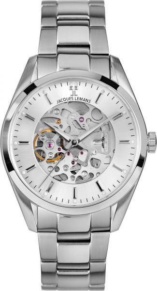 Jacques Lemans Herren-Armbanduhr Derby Automatic 1-2087F