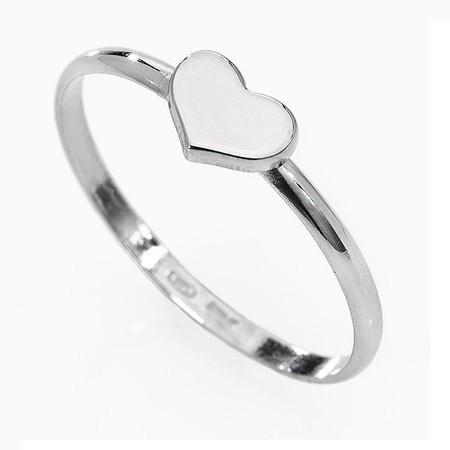 AMEN Ring Silber Herz Gr. 52 AHB-12