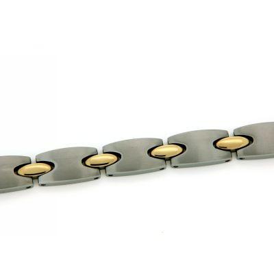 Armband Titan 21 cm bicolor