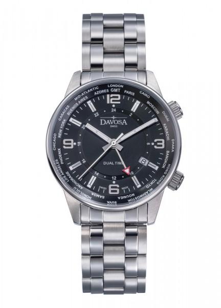 Davosa Armbanduhr Vireo Dual Time 163.480.55