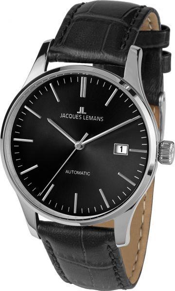 Jacques Lemans Herren-Armbanduhr London Automatic 1-2073A
