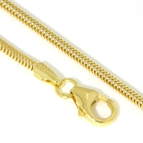 Schlangenkette Silber 333 1,6mm rund 45 cm