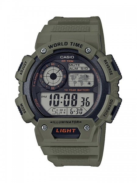 Casio Collection Armbanduhr AE-1400WH-3AVEF
