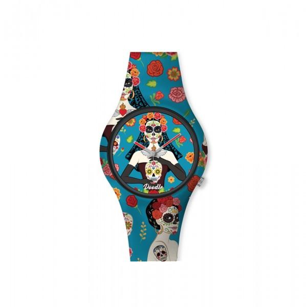 Doodle Santa Muerte Mood Armbanduhr DO35011