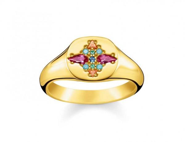 Thomas Sabo Ring Größe 48 TR2231-996-7-48