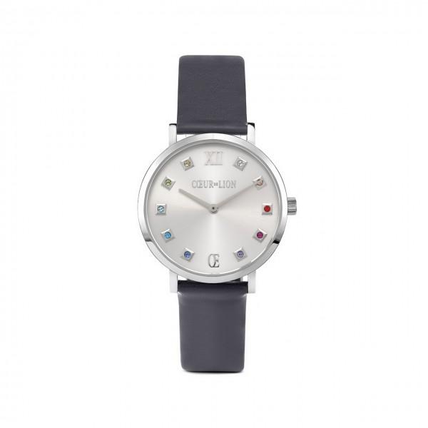 COEUR DE LION Damen-Armbanduhr Silver Sunray 7610/71/1224