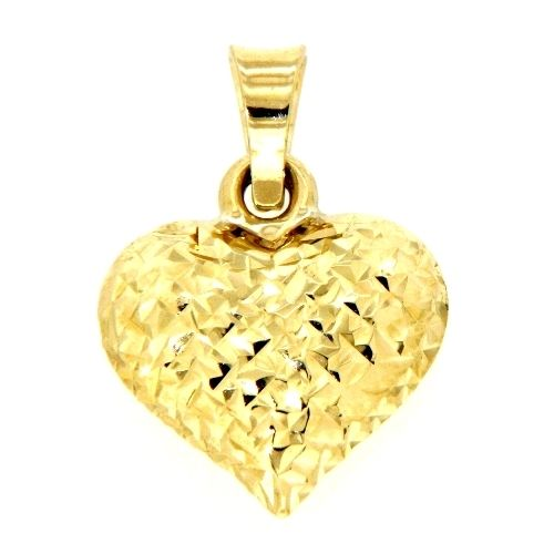 Herzanhänger Gold 333