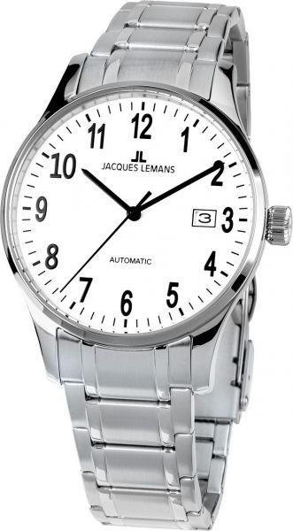 Jacques Lemans Herren-Armbanduhr London Automatic 1-2073H