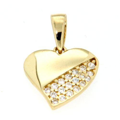 Herzanhänger Gold 375